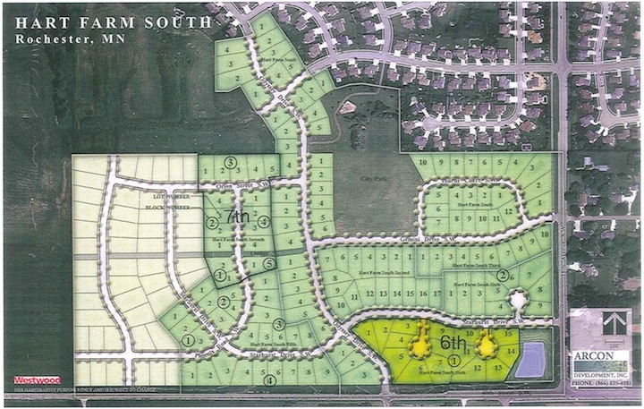 Overall Site Plan Hart Farm South Sixth